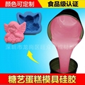 High strength food grade silicone liquid