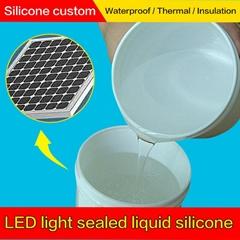 高透明粘接力强 抗老化抗紫外 LED显示屏灌封胶原料