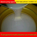 High transparent molding liquid silicone