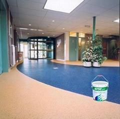 SPR東莞斯博銳18年專注生產和經營彩砂地坪