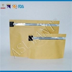 Kraft Paper Child Resistant Bag