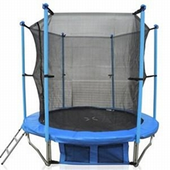 6FT Family Gardon Amusement Round Spring Trampoline With Net Inside