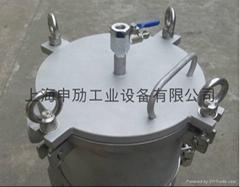 不鏽鋼單袋式過濾器,弔環平蓋袋式過濾器