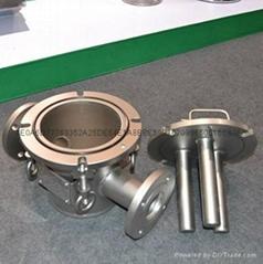 不鏽鋼磁性過濾器,管道磁棒過濾器