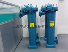 PP袋式過濾器,化工塑膠單袋式過濾器