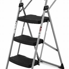 3 Steps Steel Ladder With Tools Shelf