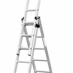 Telescopic Extension Ladder 3x8 Steps