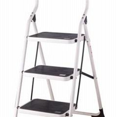 3 Steps Steel Household Ladder With EN14183