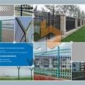 Climb Preventing Wire Mesh Fence