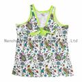100% cotton girl's nightgown  print