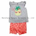 Hot sale baby short-sleeved T-shirt set