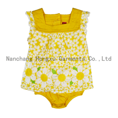 100% cotton baby rompers