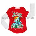 Long sleeve girl's T-shirt