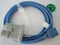 Nellcor fingertip spo2 sensor long wire