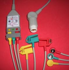 HP M1510A三導電纜; 導聯線