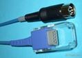 Datascope 血氧转接线