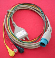 Kontron Integral  ECG cable with 3LD / 5LD
