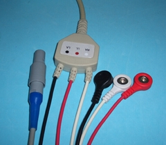 CREATIVE  ECG cable with 3LD and 5LD