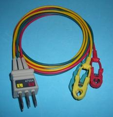NEC 47504 ECG 3-leadwires,clip,ICE