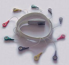 美林、摩托拉Holter十二导联线