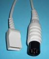 Spacelabs 6pin-UTAH IBP cable
