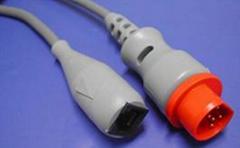 西門子10pin-雅培/尤它/BD/百特有創血壓電纜