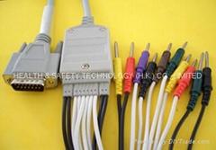 日本光電心電電纜及導聯線