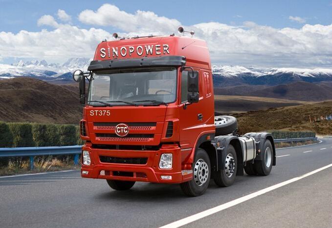 CTC-SINOPOWER 10 WHEELS 375HP TRACTOR TRUCK 1