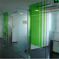 Laminated Insulating Glass Office Wall