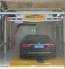 Touch free wash machine automatic car washg system