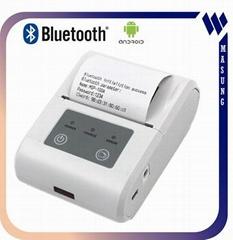 58 mm thermal portable bluetooth mini  printer