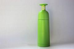 Vacuum water bottle, food grade material, stand-10/100 degree centigrade, capaci