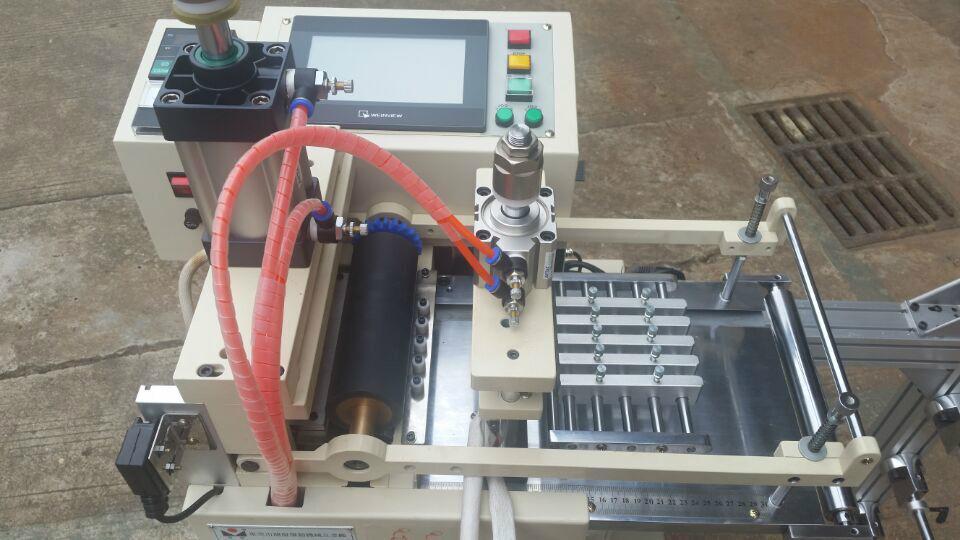 气压式附加烙印切带机 3