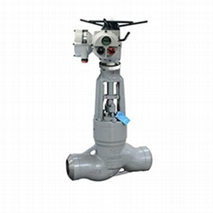 Vacuum exhaust steam globe valve apply for power station