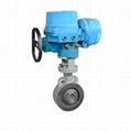 The wafer electric butterfly valve apply