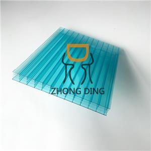 Triple Wall Polycarbonate Hollow Sheet 1