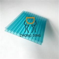 Triple Wall Polycarbonate Hollow Sheet