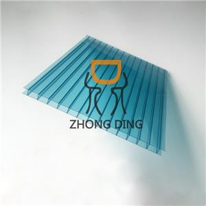 Twin Wall Polycarbonate Hollow Sheet 1