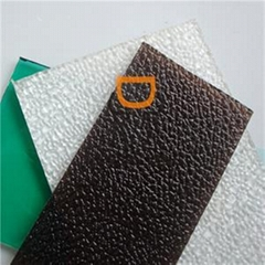 Polycarbonate Diamond Embossed Sheet