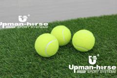 Chemical fiber tennis ball