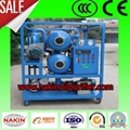 ZYD Double-stage vacuum transformer oil purifier 1