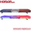 Low-profile LED Warning Flashing Vehicle