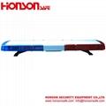 Hot DC12V 24V 1W Low-Profile light bar vehicle warning police lightbar HS8130 3