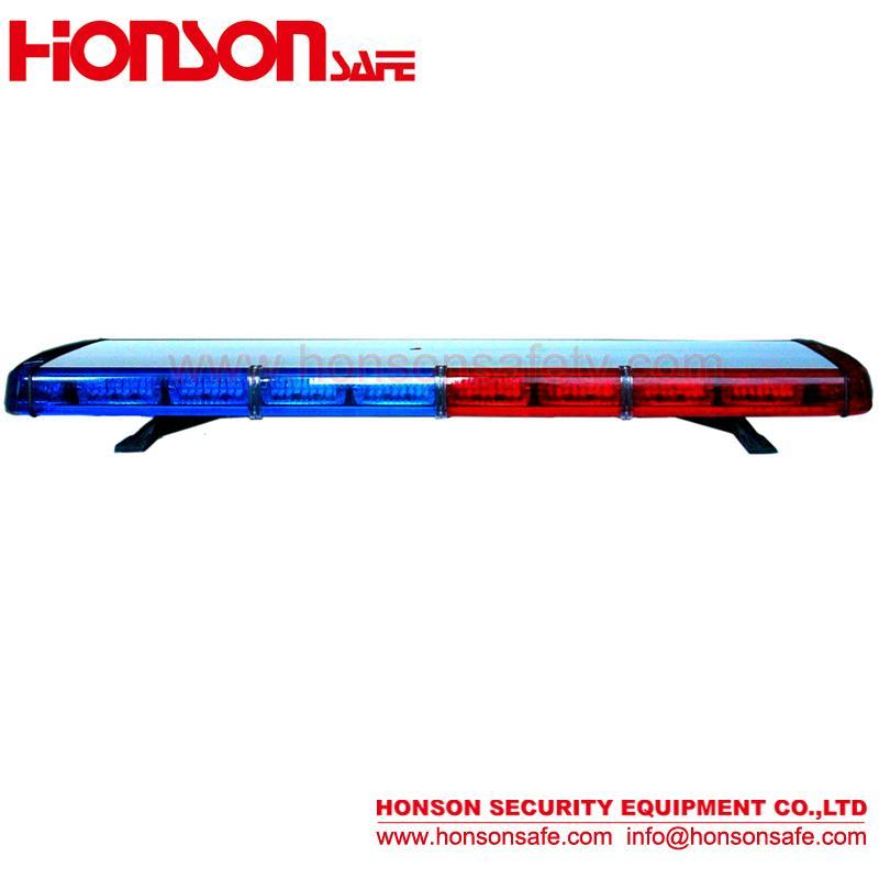 Hot DC12V 24V 1W Low-Profile light bar vehicle warning police lightbar HS8130 1