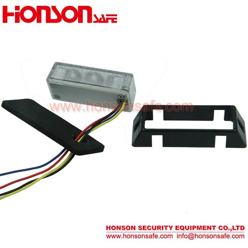Popular LED Grille Emergency Vehicle Warning Light HF-132 4