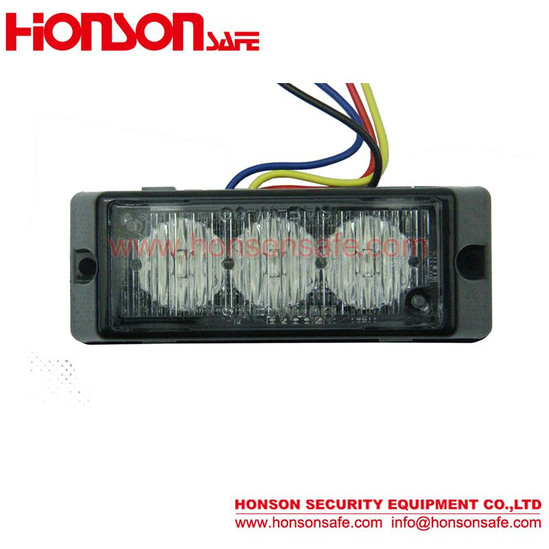 Popular LED Grille Emergency Vehicle Warning Light HF-132 2