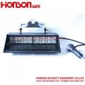 Amber Blue LED Warning Visor Dash Windshield Emergency Light for Police Vehicle  5