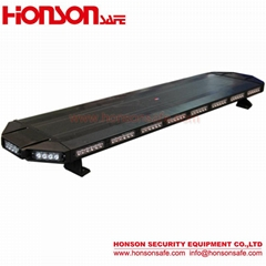 Hot super Low-Profile Aluminum alloy Body with hige power leds warning lightbar