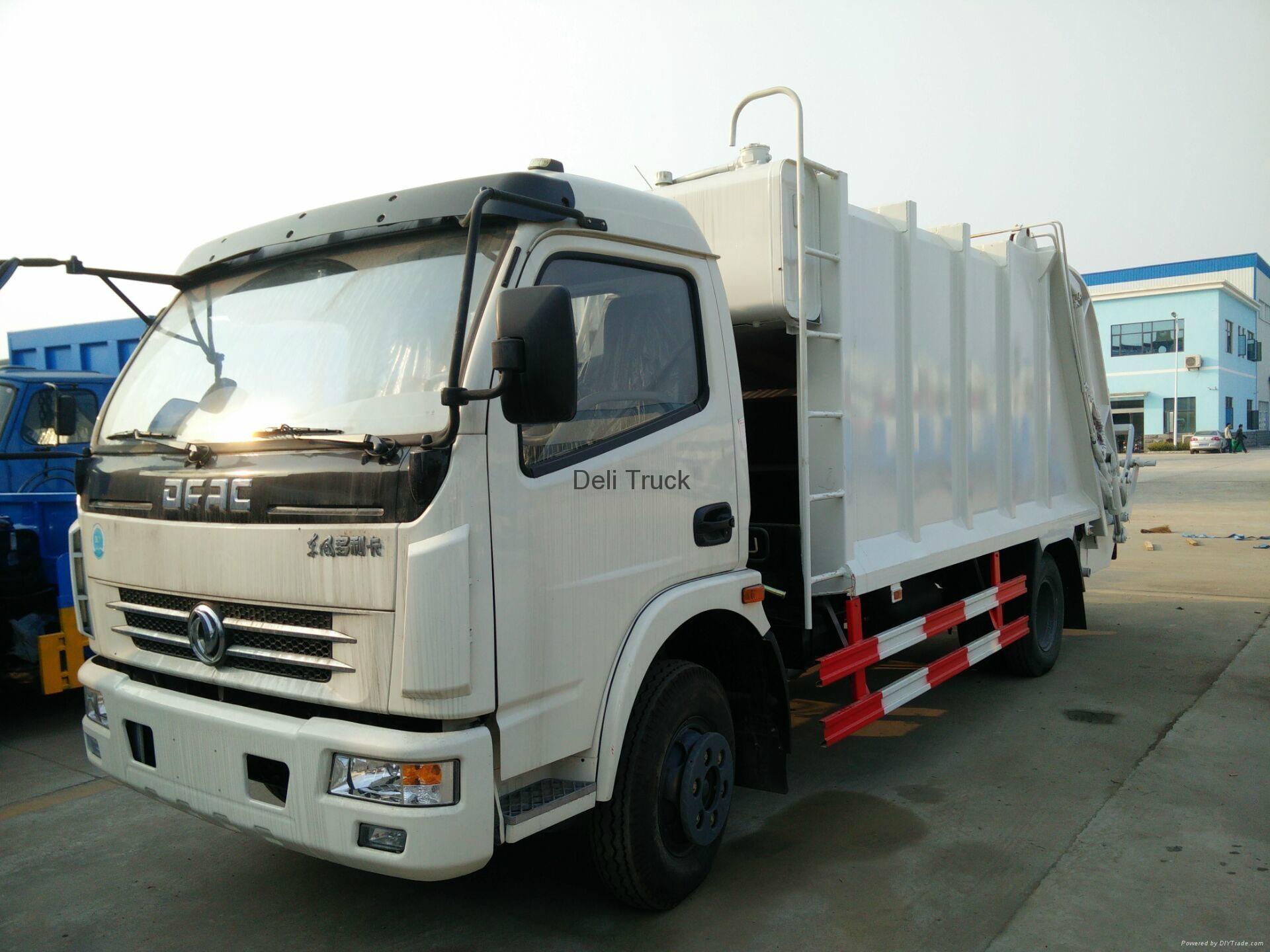 AYDL- compression garbage truck 2