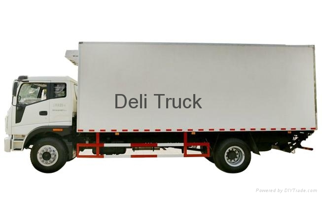 Refrigerated Truck Vehicle : Aydl refrigerated truck anyang deli china manufacturer